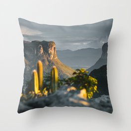 Morro do Pai Inácio Throw Pillow