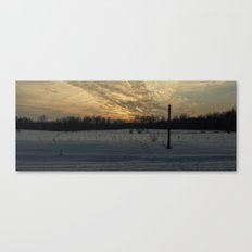 Panoramic Sunset Canvas Print