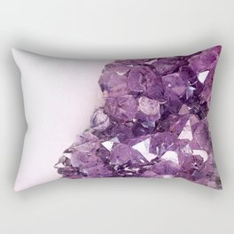 Amethyst Geode Rectangular Pillow