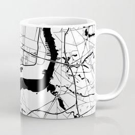 Philadelphia Minimal Map Coffee Mug