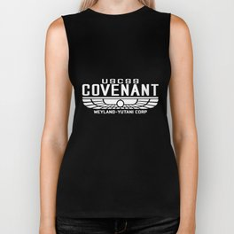 Alien Covenant Uscss Weyland Geek Yutani Geek T-Shirts Biker Tank