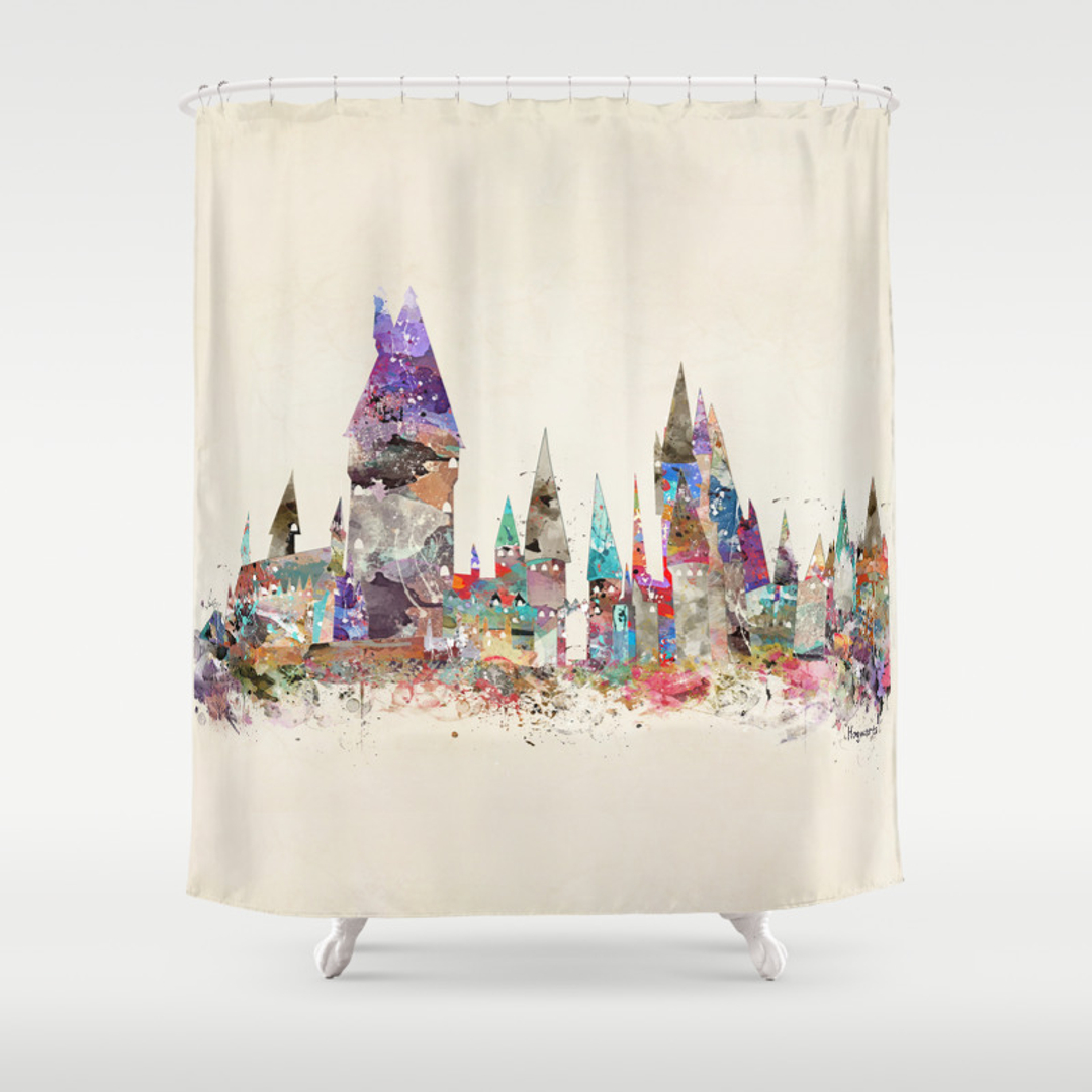 Movies tv and pop art shower curtains society6 gamestrikefo Image collections
