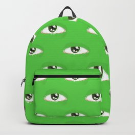 green eye Backpack