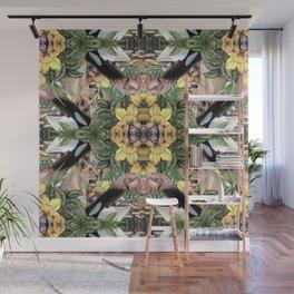 Wildlife Kaleidoscope Wall Mural