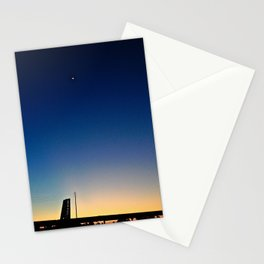 Here Comes the Moon Stationery Cards