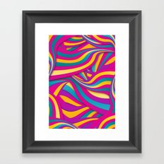 Too Bright Framed Art Print