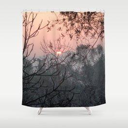 Warm December Shower Curtain