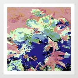 Pink Fleur Peony Art Print