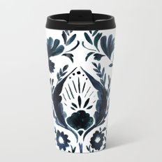 Nadia Flower Metal Travel Mug