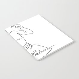 Blacksmith Hammer Continuous Line Notebook