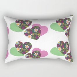 Romantic  pattern # G12 Rectangular Pillow