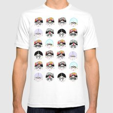 las fridas White MEDIUM Mens Fitted Tee