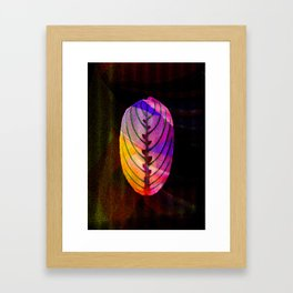 leaf (BLATT) Framed Art Print