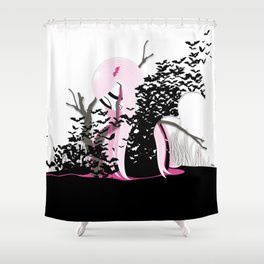 THE FEARLESS VAMPIRE KILLER Shower Curtain