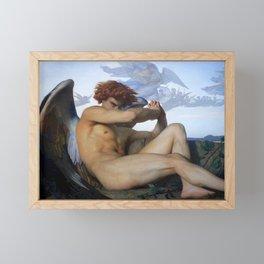 FALLEN ANGEL - ALEXANDRE CABANEL Framed Mini Art Print