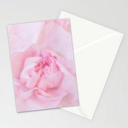 Soft Pink Carnation Stationery Cards