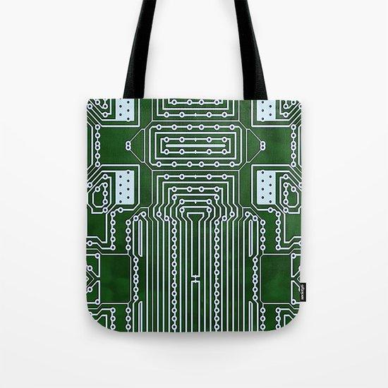 Computer Geek Circuit Board Pattern by diversestuff