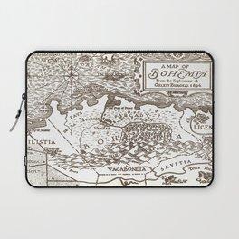 Map of Bohemia Laptop Sleeve