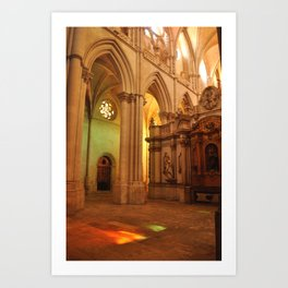 Cuenca Cathedral Art Print