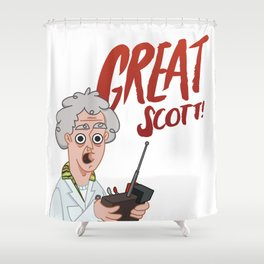 Great Scott! Shower Curtain