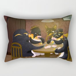 Poker Rectangular Pillow