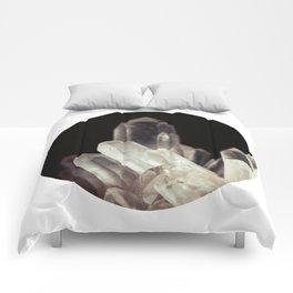 Quartz Crystal Two Comforters