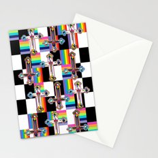 Jesus is The New Pattern Stationery Cards