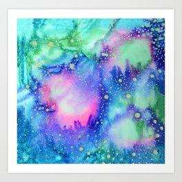 """Cosmic world"" Art Print"