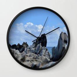 dragon's teeth Wall Clock