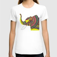 allison argent T-shirts featuring Allison Elephant by Laura Maxwell