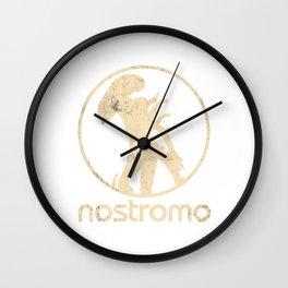 ALIEN (XENOMORPH) 'NOSTROMO' ILLUSTRATION Wall Clock