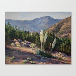 The Sentinels of the California Desert Canvas Print