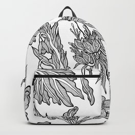 Floral Pattern Guidance Backpack
