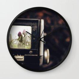 TTV Tulips Wall Clock
