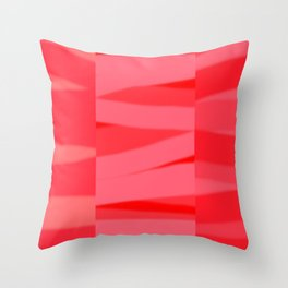 Red Slate Throw Pillow