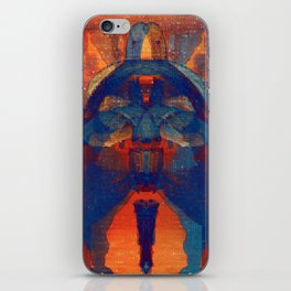the postman, then the vicar iPhone Skin