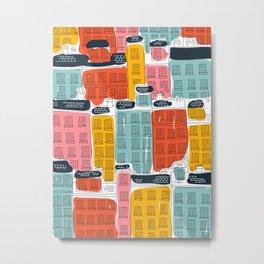 Cinque Terre Houses Metal Print