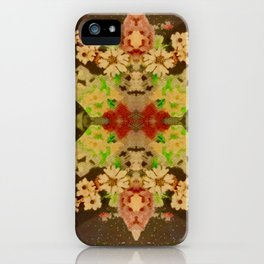 Carpet Bag Reimagined iPhone Case