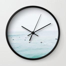 Imperial Beach Lineup Wall Clock