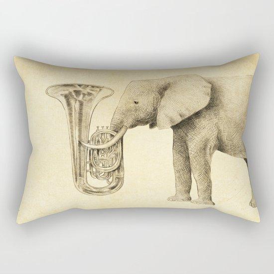 Tuba Rectangular Pillow