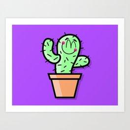 Cutest Cactus Art Print