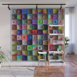 Patchwork of Joy Wall Mural