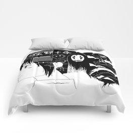Spirited Away Fan Art Comforters