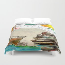 Book of Life Duvet Cover