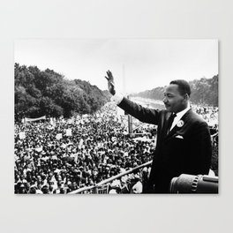 Remembering Martin Luther King Canvas Print