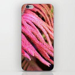 Alien pink wird plant forest iPhone Skin