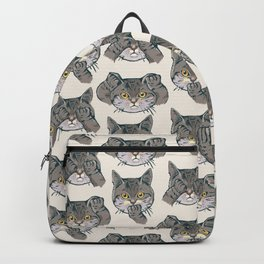 No Evil Cat Backpack