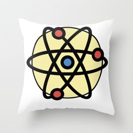 Atoms Very Cute Gift Idea Throw Pillow