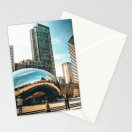 Architecture mirror art Stationery Cards
