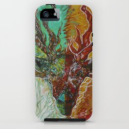 Forest Sage iPhone Case